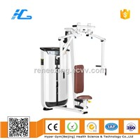 Pectoral Fly Machine/Butter Fly/Exercise Machine with Clump Weight