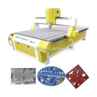 JINAN SUNRISE SCT1325 CNC Router for Advertising Wood Furniture