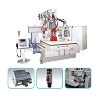 SCT-W1325C Auto Tools Changer Woodworking ATC CNC Router