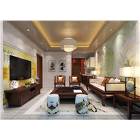 WPC Wall Panel Indoor Luxury Decoration Wallboard