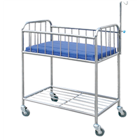 Stainless Steel Infant Bed for Hospital/Home/Clinic
