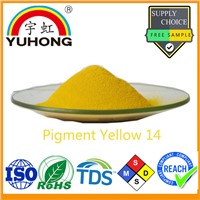 Color Pigment Powder Yellow 14 for Ink (Sovent Based/Gravure Ink) & Plastic
