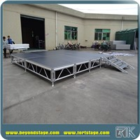 RK Mobile Exhibition Stage/Decorated Lighted Wedding Stage/Wedding Stage Decoration