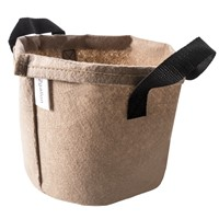 Round Fabric Pots with Handles Smart Root Pouch Pot Felt Grow Gag Aeration Bags