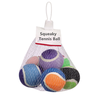 Premium Squeaky Dog Tennis Balls Training Ball 6 Pack Colorful Balls