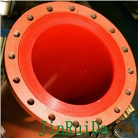 Wear Resistant Polyurethane Lined Steel Pipeline Fitting