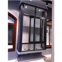 Aluminium Windows & Doors Aluminium Sliding Windows Locks with Fly Screen