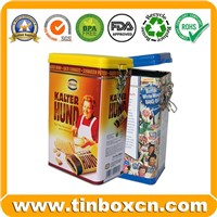 Cookie Tin Box, Biscuit Tin Can, Cake Tin, Food Tin Box, Food Tin Packaging (BRT-57)