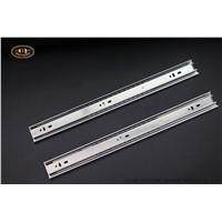 Jieyang Manufacturer Cold-Rolled Steel Material Furniture 45mm Ball Bearing Drawer Slide