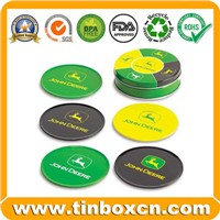 Metal Tin Coaster, Tin Pad, Tin Cup Pad (BR1652)