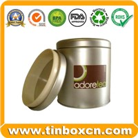 Tea Tin, Tea Box, Tea Caddy, Tin Tea Can, Tin Tea Box
