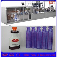 Standard Plastic Bottle Form Fill Seal Machine For E-Liquid/E-Juice/E-Cigarette/Vape