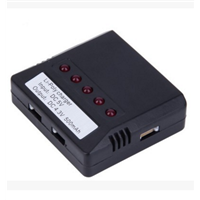 Hot Sale X4 Mini 4 Port 3.7V Lipo Battery USB Charger for Hubsan H107/Wltoys/Syma X5C/UDI U816/JXD Quadcopter