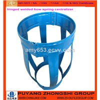 Welded Centralizer Hinged Type Drill Pipe Centralizer 5 1/2""
