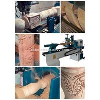 SCT1500A Horizontal Type Cheap Price CNC Wood Lathe Machine