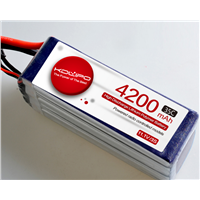 Model Aircraft Battery UAV through the Machine 4200mAh 35C Lipo Battery