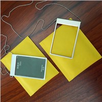 Shenzhen Manufacturer Wholesale Gold Silver Aluminium Alloy Badge Holder for Work Card