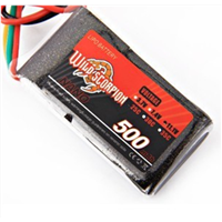 Wild Scorpion Aircraft Model Battery 11.1V 500MAH 25C Remote Control Helicopter Ship Model Car Model Lithium Battery
