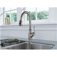 Export American Single Handle Pull-Down Kitchen Faucet