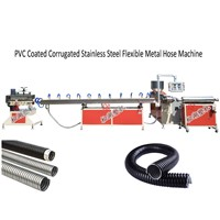 PVC Coated Corrugated Metal Sprinkler Hose Production Line