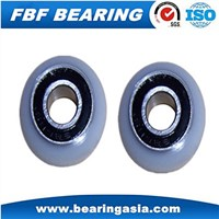 Nylon Roller Sliding Door / Furniture Used Plastic Nylon Roller Bearing 605 Bearing