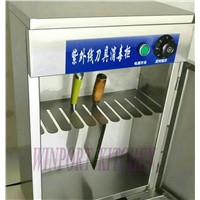 Commercial Stainless Steel UV Knives Disinfection Cabinet / Knife Sterilizer Cabinet Wall-Mounted