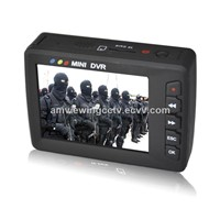 2.7 Inch LCD Screen In Resolution 960 x 240 HD Portable DVR, Motion Detection, Remote Control