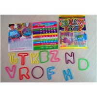 High-Elasticity Letter Silicone Silly Bandz