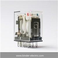 MY4 AC110/120 (S) General Purpose Relay, Standard Coil Polarity, Standard Typel, Plug-in Socket/Soder Terminals