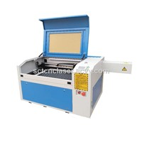 Laser Engraving Cutting Machine Rotary AXIS 60W Co2 Laser 600x900mm Cutting Machine for Arts & Crafts