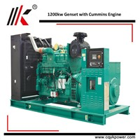 ELECTRICAL DUBAI DYNAMO GENERATOR SET with CUM 1200KW HIGH POWER GENSET for SALE
