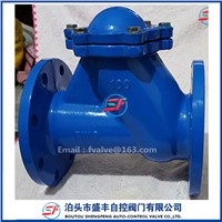 HQ41X Roliing Ball Check Valve Ductile Iron Material