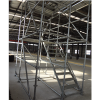 High Quality & Safety Ringlock Scaffolding System Construction Building Steel Material Price 5-20usd Per Piece