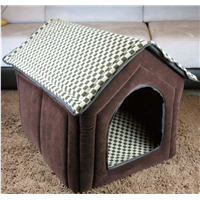 Best Quality Pet Warm Cozy House Sweet Home Bed