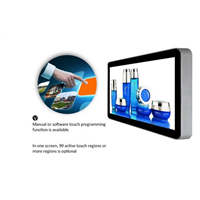 65 Inch Wall Mount HDMI Digital Touchscreen Advertising Display