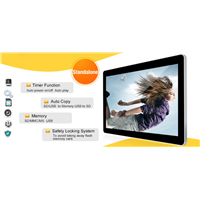 42 Inch Wall Mount LCD Advertising Player, LCD Media Player Monitor