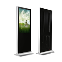 Stand Alone Indoor Wireless WiFi Indoor TV Screen Panel LCD Wall Mounting Ad Play with Media Screen