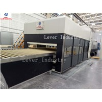 Double Bending Glass Tempering Furnace for Car Rear Glass