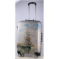 Durable Hardside Travel Luggage Bags with Aluminum Frame & PC Film