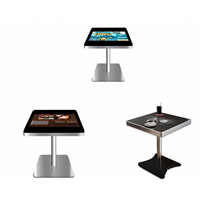 Interactive Touch Screen Coffee Table with Glass Top Center Table Design