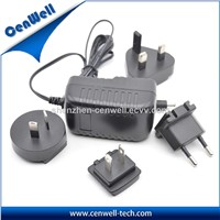 12v1.85a AC Adapter Interchangeable Power Adapter for LED Light