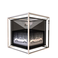 Customize Shape OEM Holographic Film for Shop Window Display with Full HD Resolution