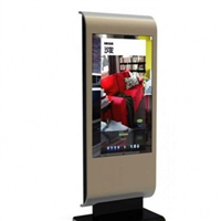 High Brightness Floor Stand LCD Advertising China Multifunction Vandal Proof HD Outdoor Digital Signage
