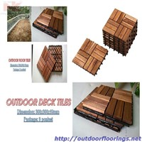 Interlocking Deck Tile NKDT06 from Vietnam