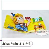 Children Cardboard Pop-up Books China Mainland Printing Factory Manufacturer Printer