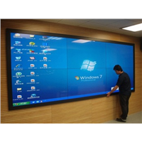 Full High Definition Large LCD Video Walls Indoor Windows 7 & Android 4.4 Option