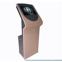 """32"""" Bank All in One PC Self-Service LCD Interactive Kiosk with Printer"""