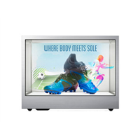 32inch Exhibition Android TFT Transparent LCD Advertising Display Box