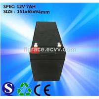 Free Maintenance Type 12v 7ah Sealed Lead Acid Battery Use for Trolley Speaker