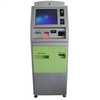 High Quality Standalone Metal Case Interactive Touch Screen Self Service Kiosk Machine